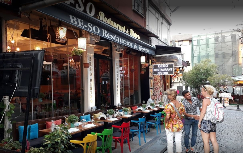 Beso Restaurant Bistro Istanbul Turki