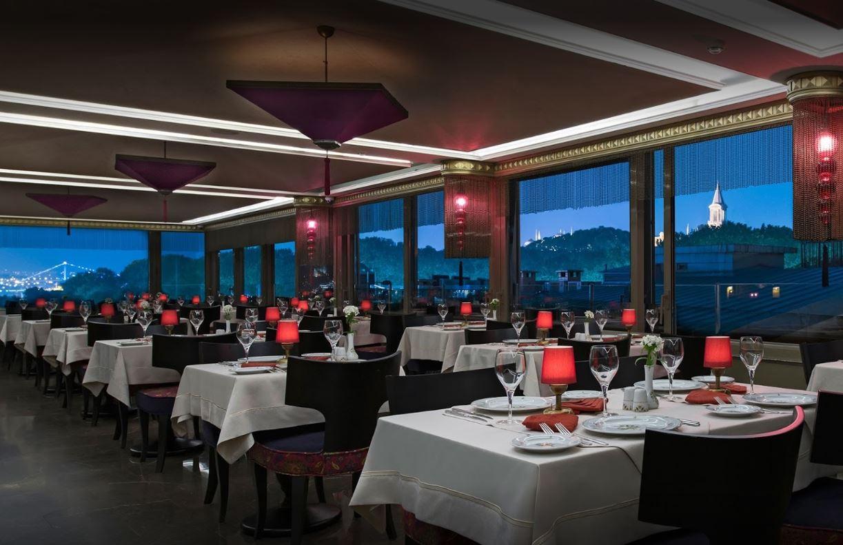 Olive Anatolian Restaurant Istanbul Turki
