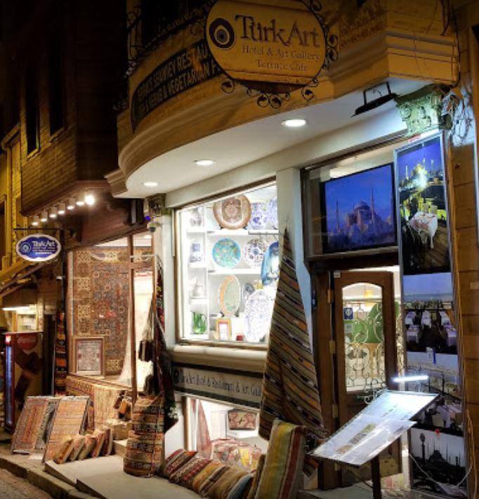 Turk Art Terrace Restaurant Istanbul