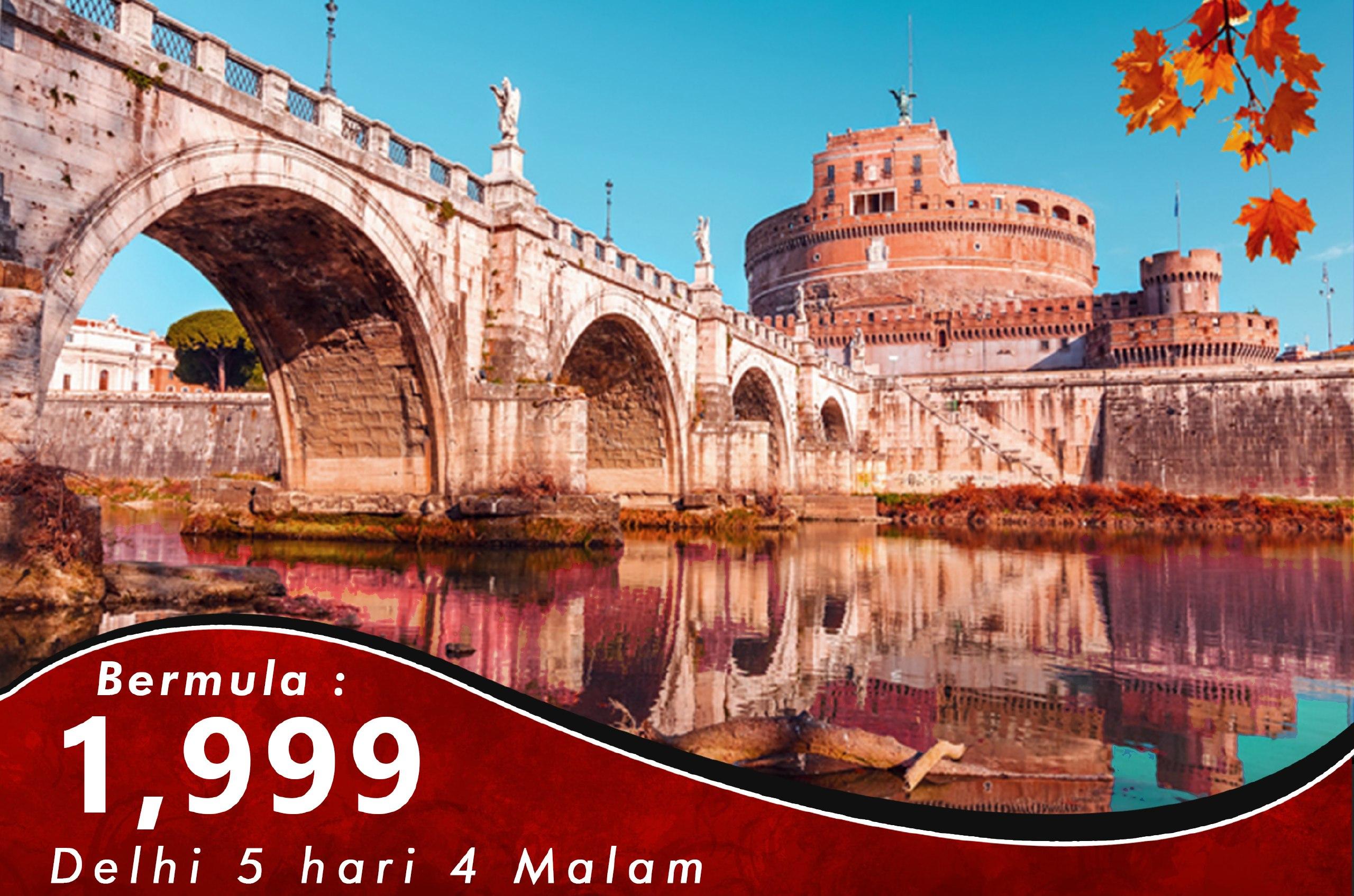 KASHMIR 5 HARI 4 MALAM + DELHI TOUR