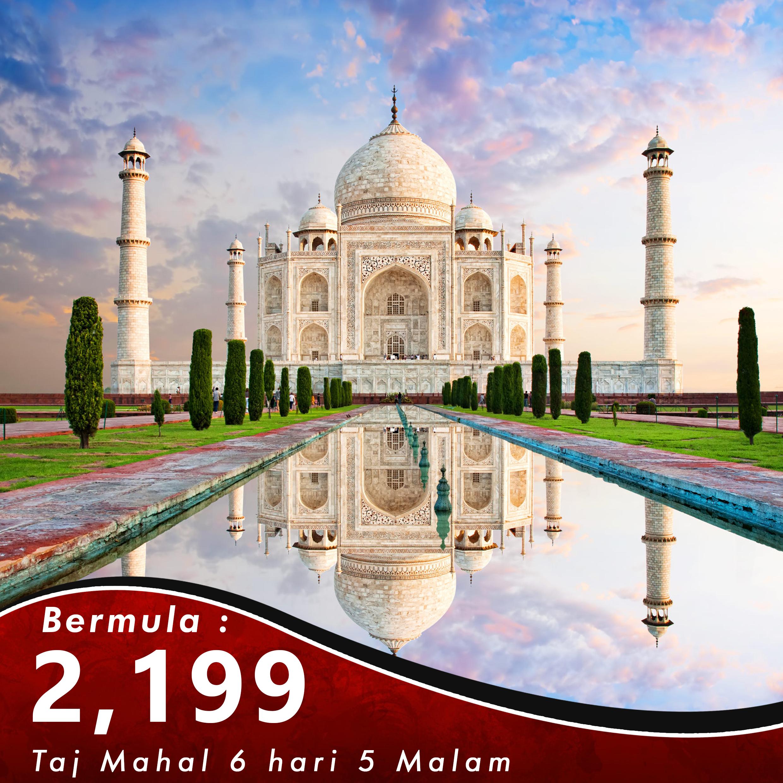 Kashmir 6 Hari 5 Malam + Taj Mahal Tour