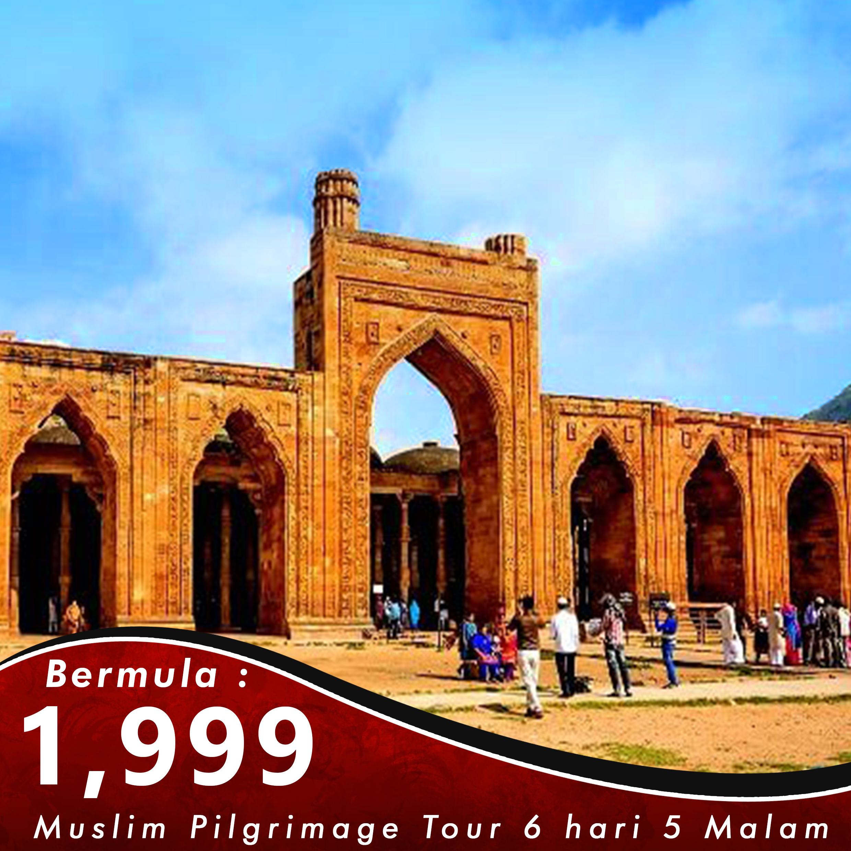 Kashmir 6 Hari 5 Malam Muslim Pilgrimage Tour