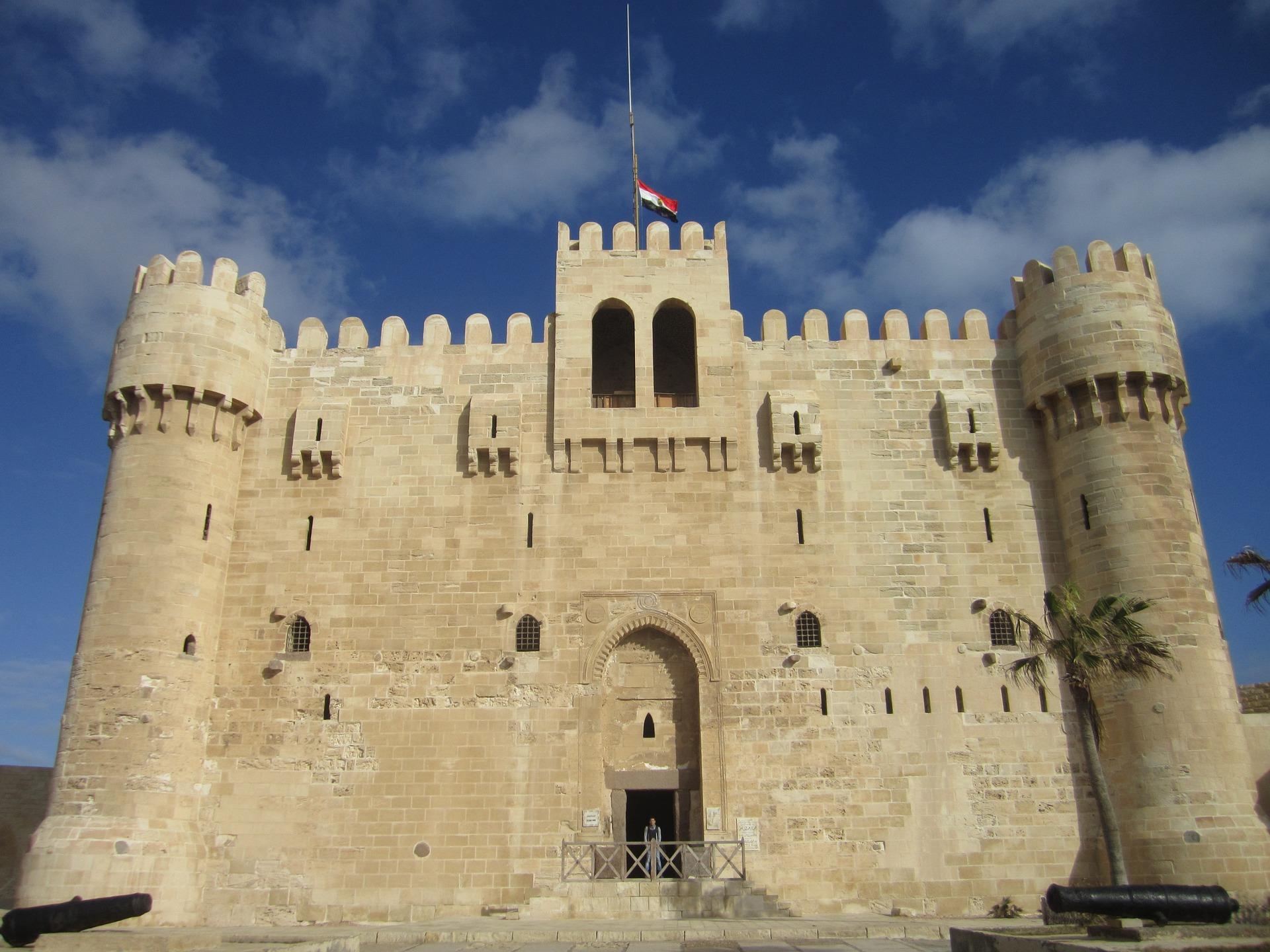 Bey Citadel Alexandria Mesir