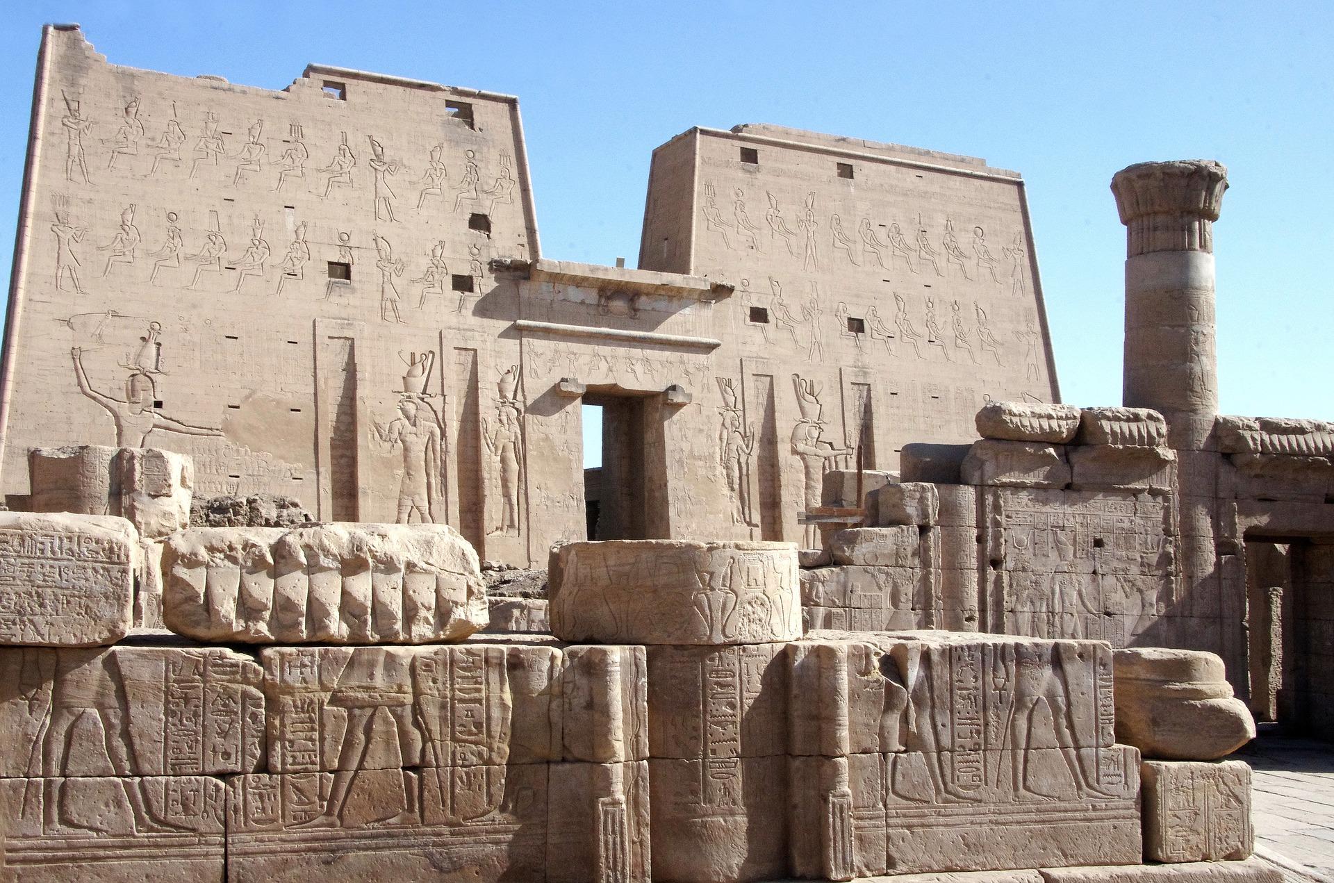 Edfu Tempat Menarik di Mesir