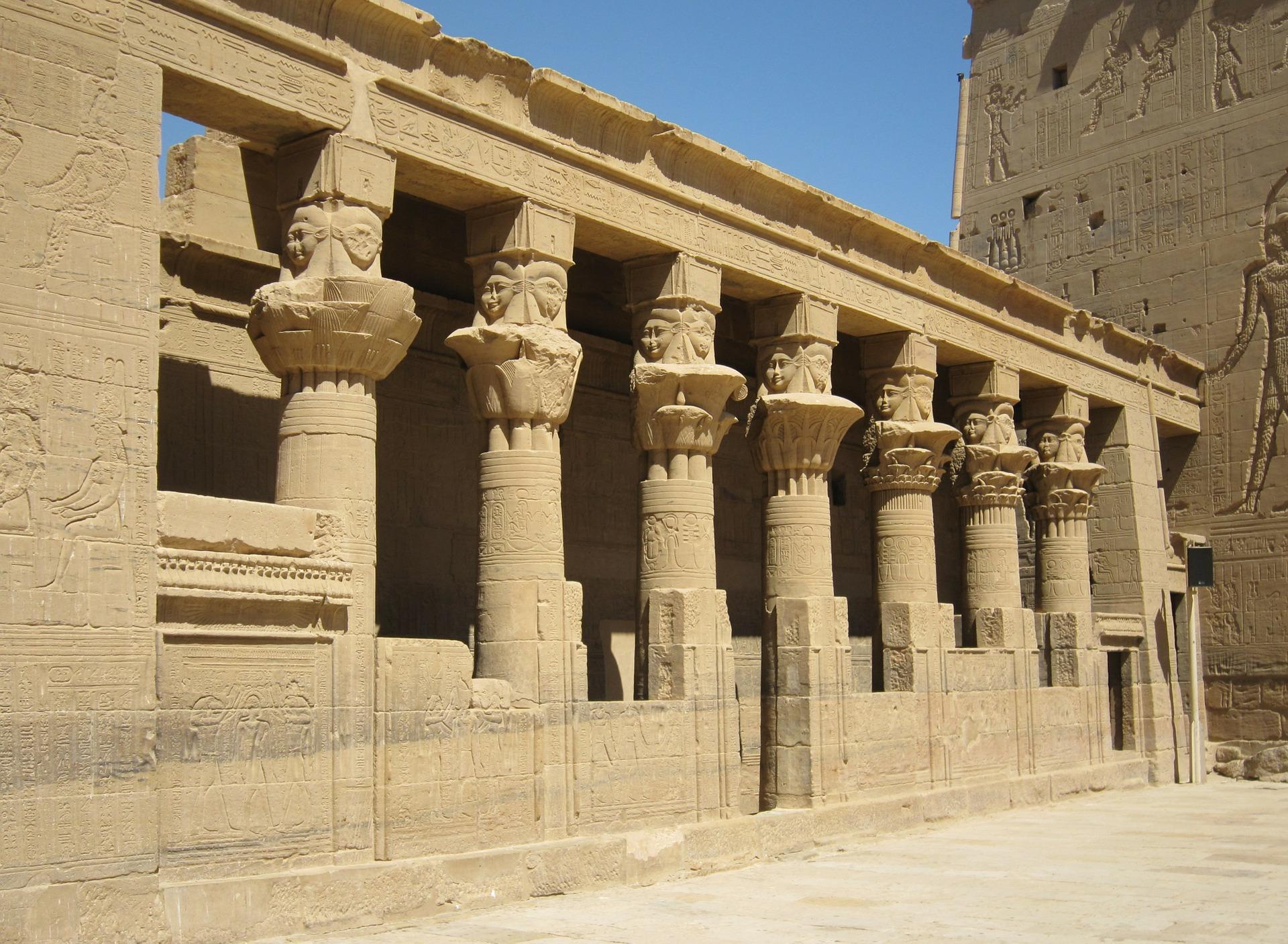 Kuil Horus Aswan Mesir